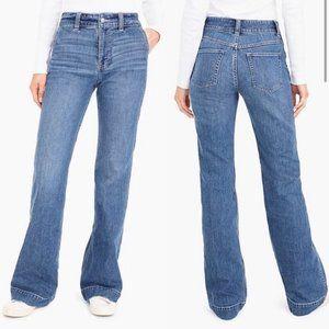 J.Crew Wide Leg K5200 Trouser Jeans Sz 29 NWT
